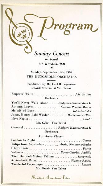 Program concert 650912