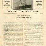Radio bulletin Nr 36 1928