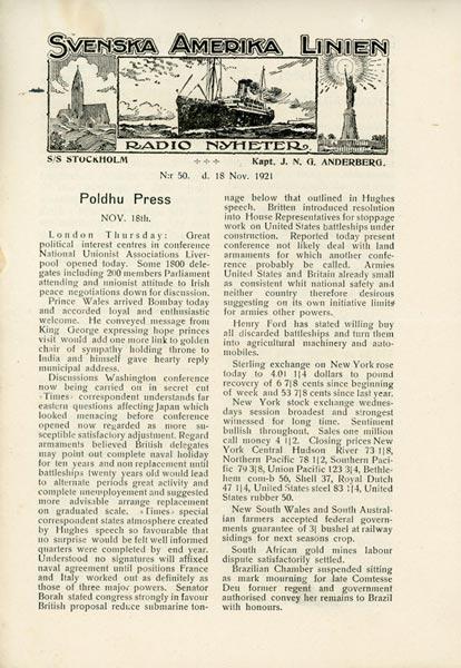 Radio Nyheter Nr50 1921