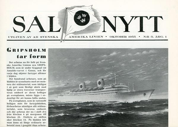SAL Nytt Nr 3 1955