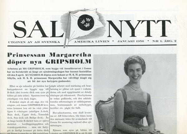 SAL Nytt Nr1 1956