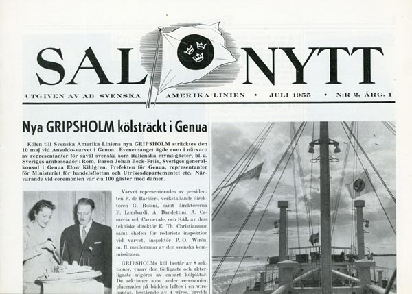 SAL Nytt Nr2 1955