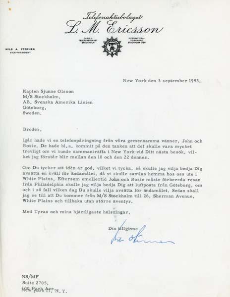 Letter 530903
