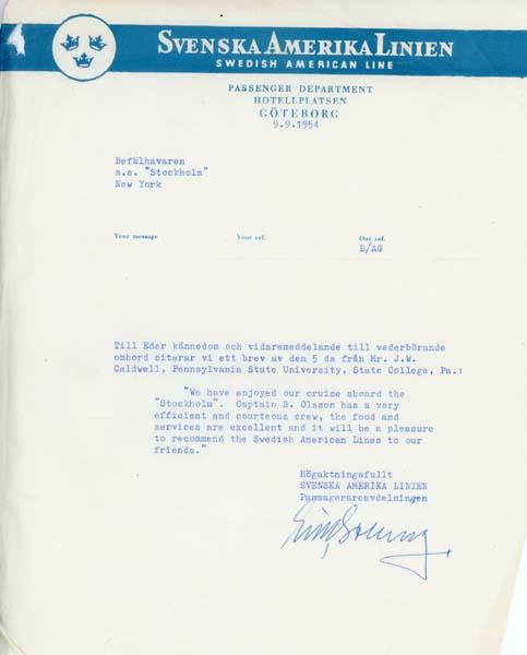 Letter 540909