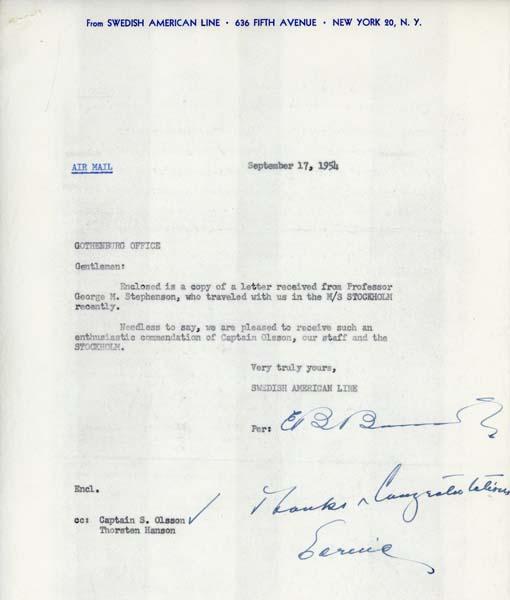 Letter 540917