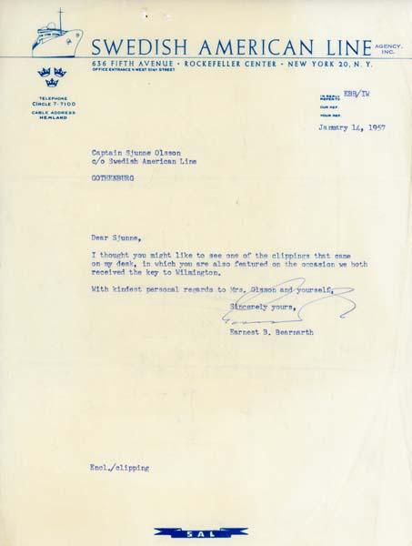 Letter 570114