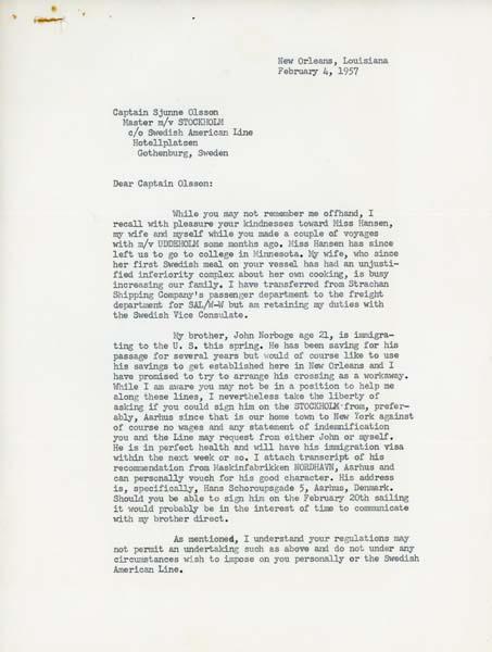Letter 570204