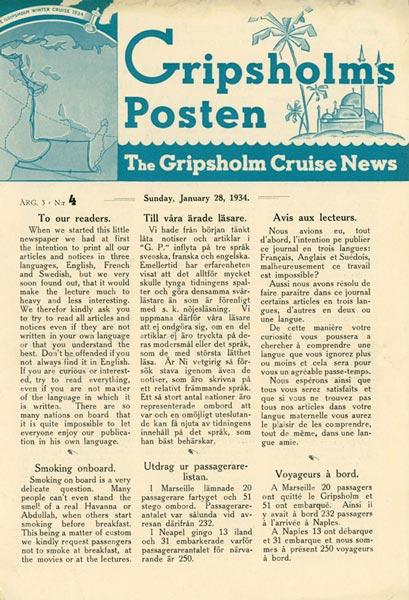 Gripsholms Posten annual 3 nr 4 1934