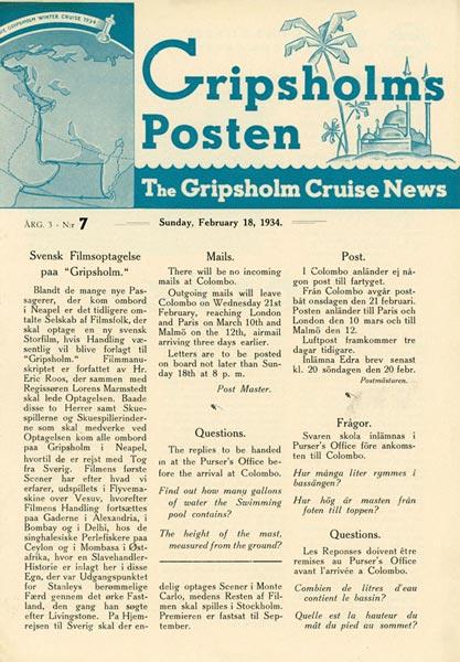 Gripsholms Posten annual 3 nr 7 1934