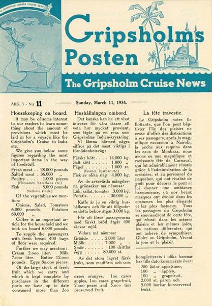 Gripsholms Posten annual 3 nr 11 1934