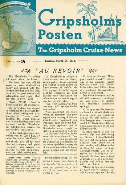 Gripsholms Posten annual 3 nr 14 1934