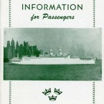 Information for passengers 1953-1954