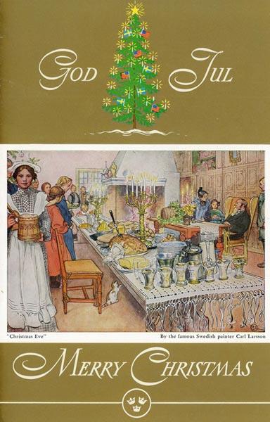 Menu Christmas dinner 661206