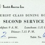 Table reservation 1958 2