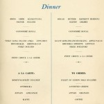 Meny middag 520316