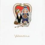 Meny middag 550214 Valentine