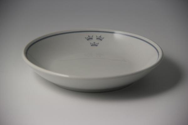 Porcelain smörgås plate