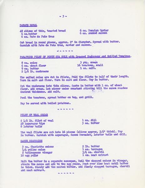 Recipe 3 1966