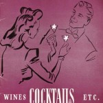 Wines cocktails etc 1946