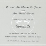 Invitation cocktail 1969 5