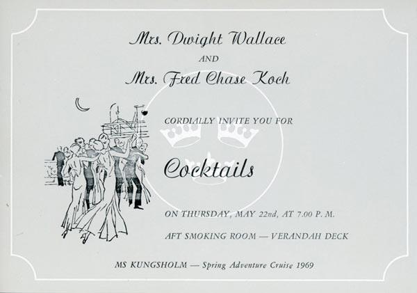 Invitation cocktail 1969 6