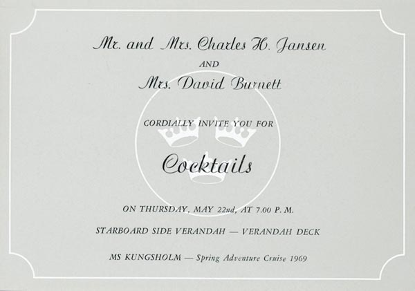Invitation cocktail 1969 7