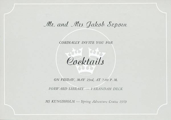 Invitation cocktail 1969 8