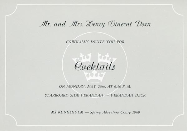 Invitation cocktail 1969 9