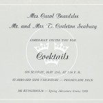 Invitation cocktail 1969 12