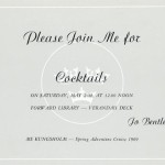 Invitation cocktail 1969 14