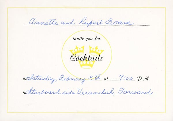 Invitation cocktail 750208