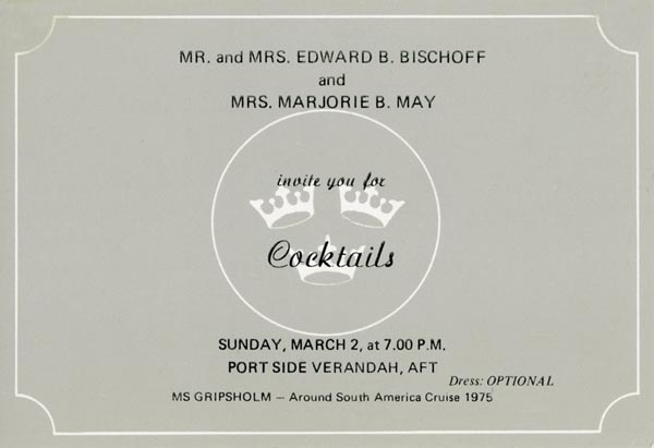Invitation cocktail 750302