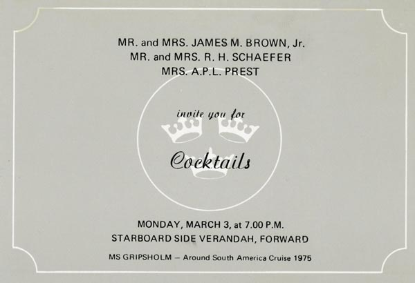 Invitation cocktail 750303