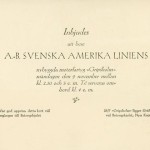 Invitation card Gripsholm