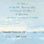Invitation card Gripsholm 581008