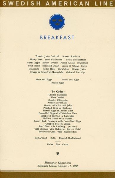 Meny frukost 381011