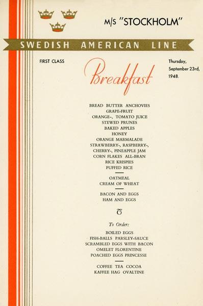 Meny frukost 480923
