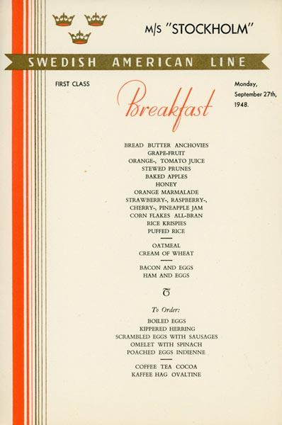 Meny frukost 480927